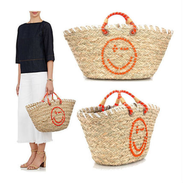 Anya Hindmarch★wink basket tote かごバッグ♪ 関税/送料込