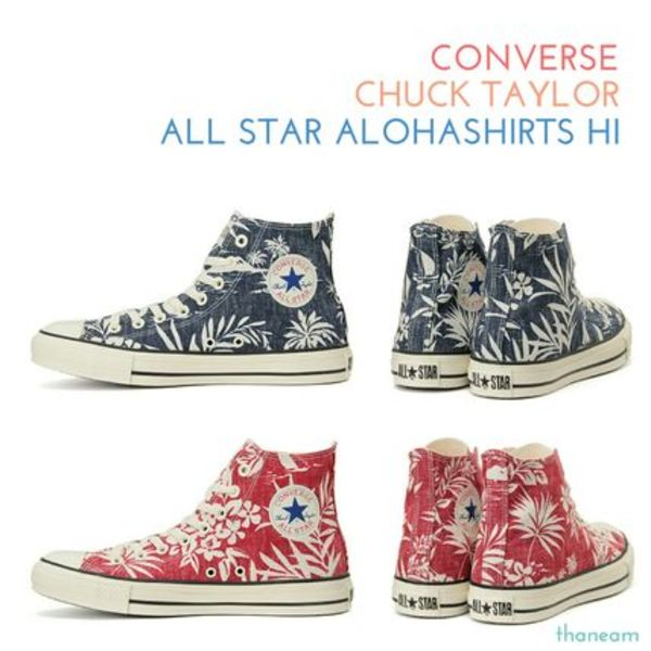 ★CONVERSE★ALL STAR ALOHASHIRTS HIオールスターアロハシャツ