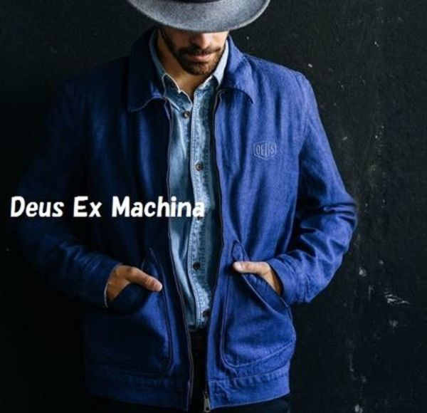 NEW!デニムジャケット★Deus Ex Machina★Workwear Jacket