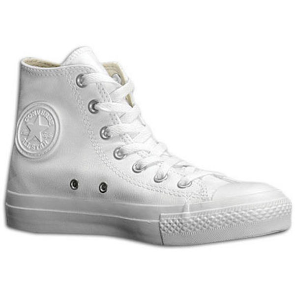 日本未発売 Converse All Star Leather Hi ( White Monochrome )