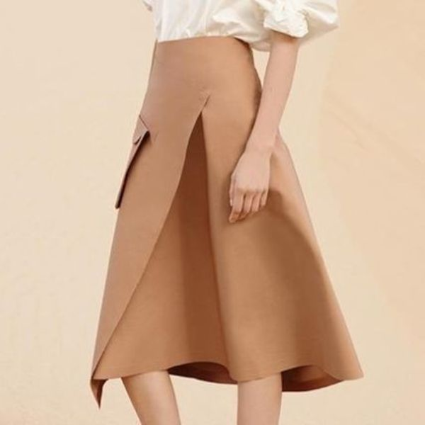 """COS""WRAP SKIRT WITH FRONT POCKET"