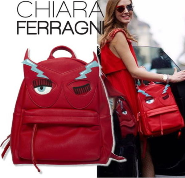 完売前に☆新作Chiara Ferragni FLIRTING BACKPACKRed【関税込】