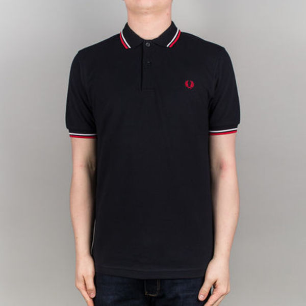 Fred Perry(フレッドペリー) Fit TwinTippedShirtM3600 ネイビー