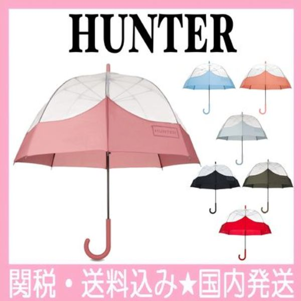 透明傘★HUNTER★7色☆Original Moustache Bubble Umbrella