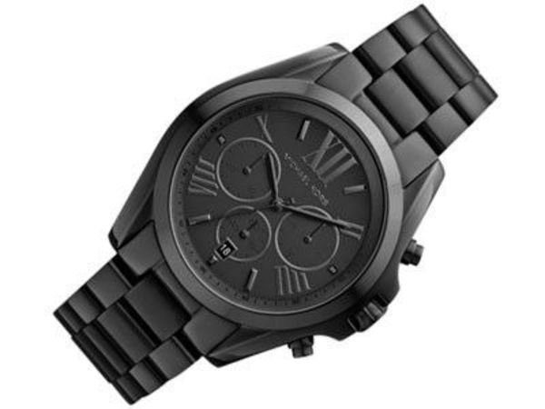 SALE!! ユニセックス♪ Michael Kors - Black Chronograp Watch