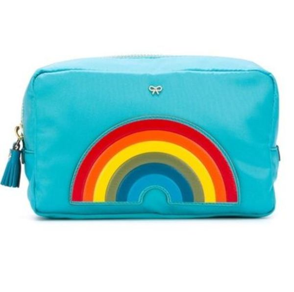 可愛い☆Anya Hindmarch☆Rainbow Makeup Pouch 化粧ポーチ
