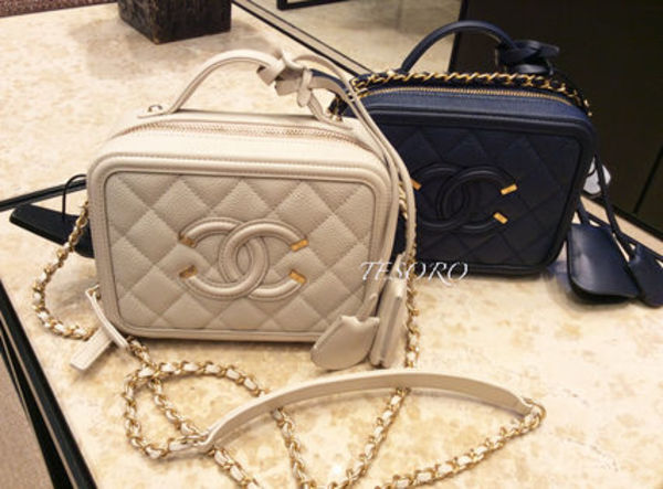Chanel 新作♡豪華!Grained Calf Mini Bag Key付♡EMS