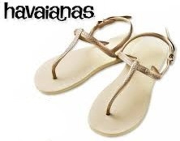 即日発送◆Havaianas Flip Flops Sand Grey /Light Golden◆