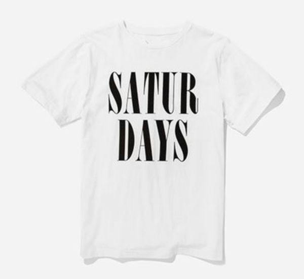 【即納】Saturdays Surf NYC HERB STACKED Tシャツ