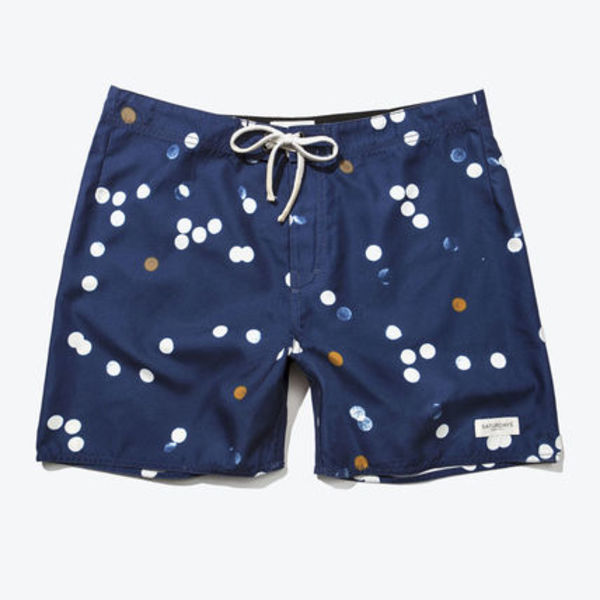 SATURDAYS SURF NYC COLIN SWIM SHORTS