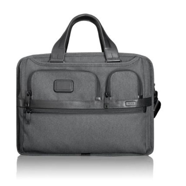 TUMI  ALPHA 2  EXPANDABLE ORGANIZER LAPTOP BRIEF #26141