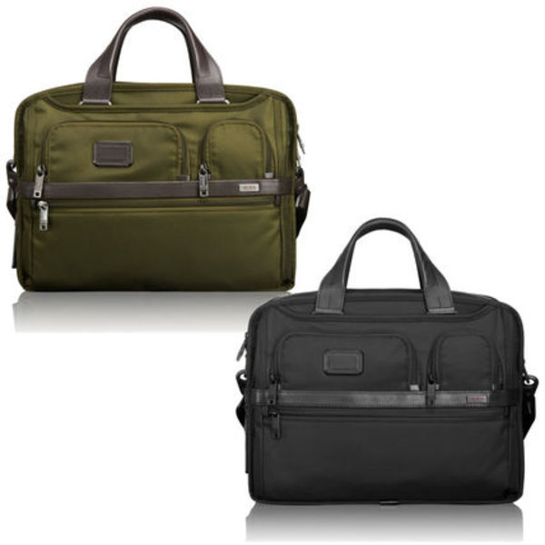 TUMI ALPHA Exp Organizer Laptop Brief 26141 ★関税負担