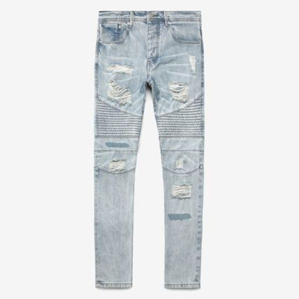 Stampd MOTO REPAIRED DENIM Indigo