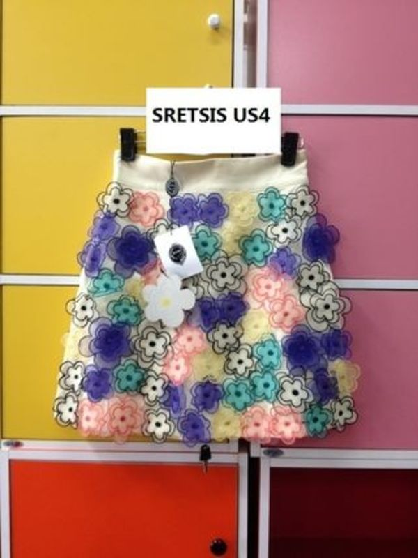 SRETSIS OH MY DAISY RAINBOW SKIRT (NEW US4)