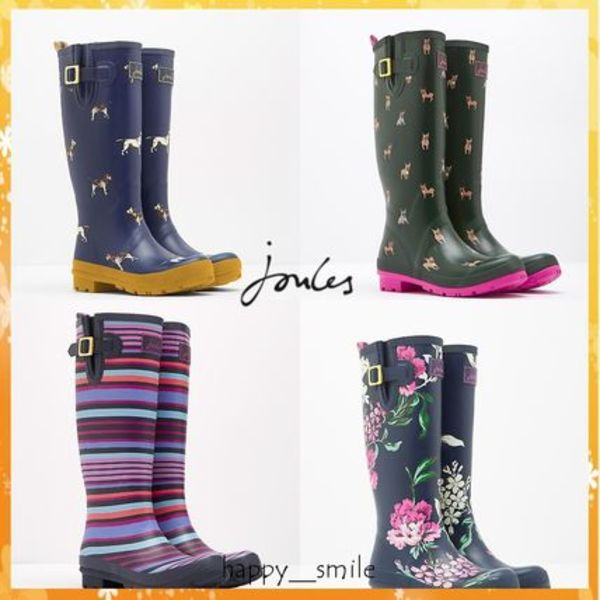 ☆Joules☆PRINTED WELLIES レインブーツ