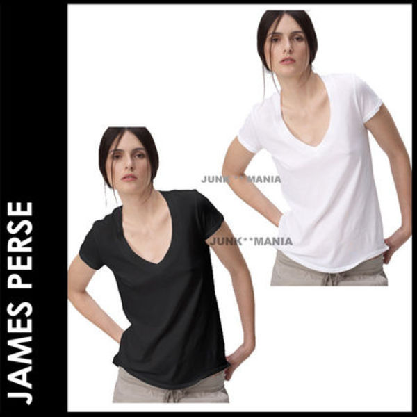 ■SALE★3-7日着/追跡付【JAMES PERSE】半袖CASUAL V