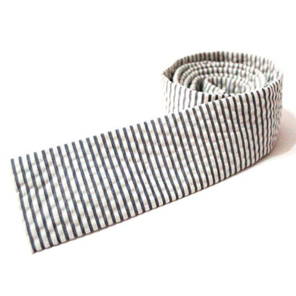 "【J.crew】 ""COTTON-SILK SEERSUCKER TIE"""