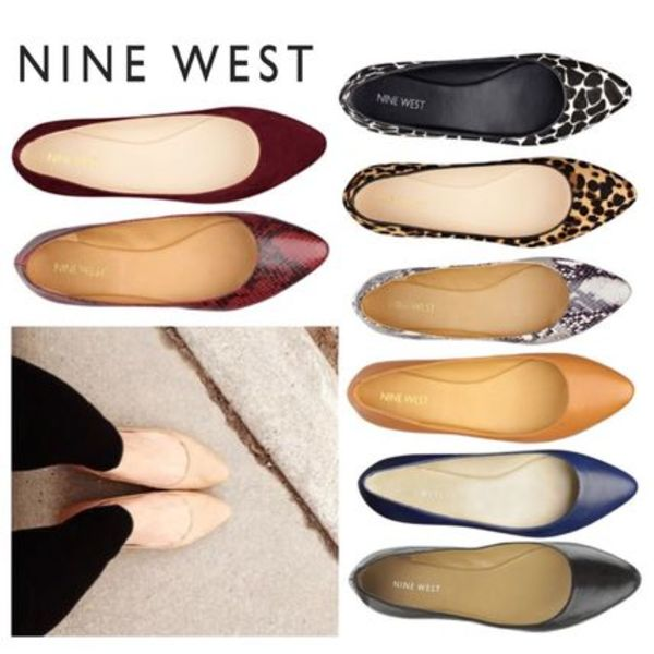 Sale★【Nine West】バレエフラット★Speakup Pointed Toe Flats