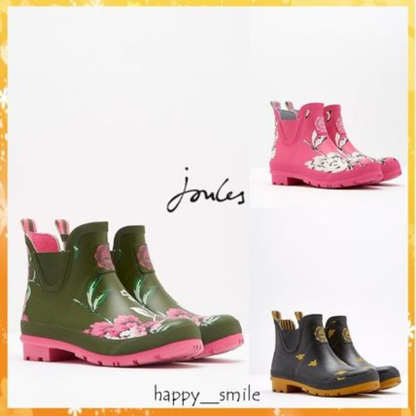 ☆Joules☆WELLIBOB SHORT WELLIES ショートレインブーツ