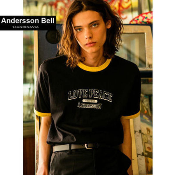ANDERSSON BELL正規品★Love Peace Tシャツ★3色★男女兼用