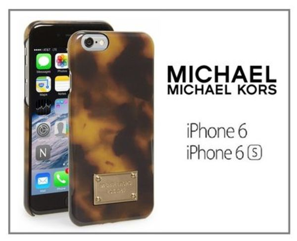 Michael Kors☆SALE!大人気 べっ甲 Iphone6/6Sケース