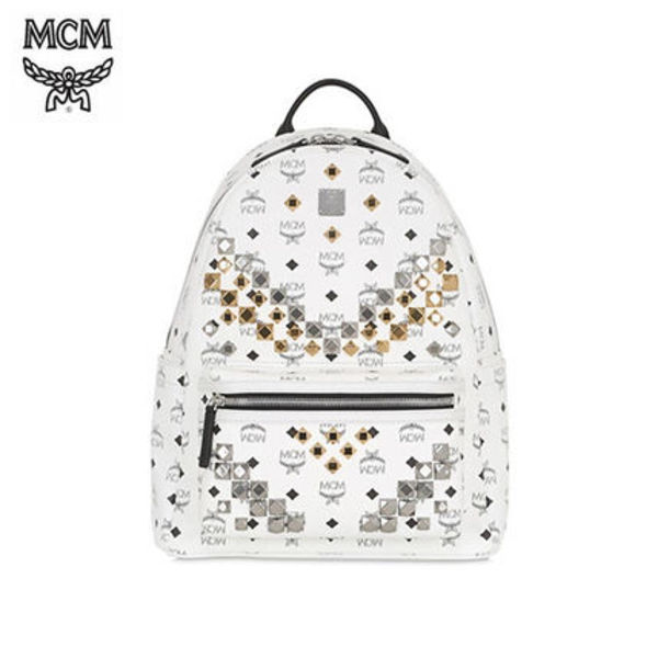 【大人気】MCM★MEDIUM STARK FAUX LEATHER BACKPACK