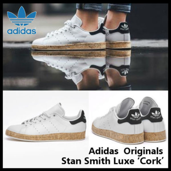 Adidas Originals Stan Smith Luxe Cork スタンスミス S78907