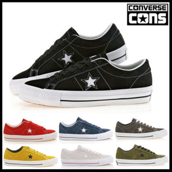 CONVERS One Star Skate Pro149907C 149908C 9色