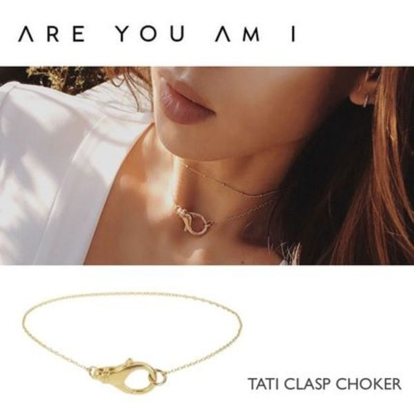 【 ARE YOU AM I 】TATI CLASPチョーカー ★ Oversize クラスプ
