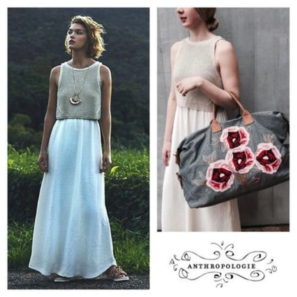 Anthropologie - Layered Sandstone Maxi Dress【ワンピース】