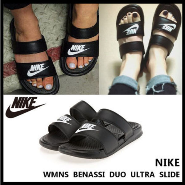 Nike BENASSI DUO ULTRA SLIDE シャワーサンダル 819717-010