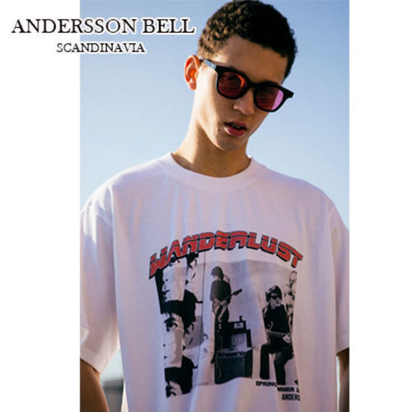 【ANDERSSON BELL】正規品★Rock Band Tシャツ White/追跡付