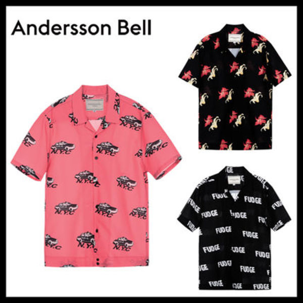 [ANDERSSON BELL正規品] Aloha Shirt メンズ アロハシャツ