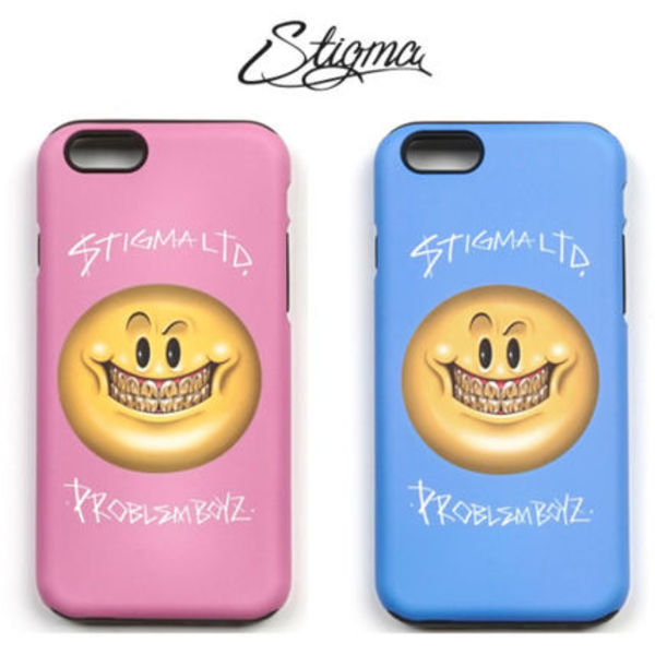 16SS新商★STIGMA★PHONE CASE SMILE★iphone6s/6s plus