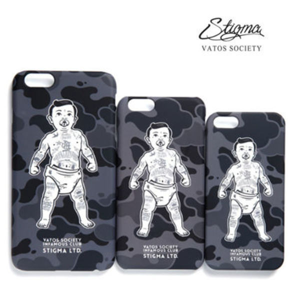 16SS★STIGMA(スティグマ)PHONE BABY GREY★iphone6/6+