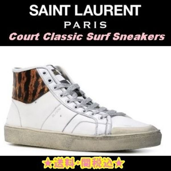 大人気♪★SAINT LAURENT 'Court Classic Surf' Sneakers★