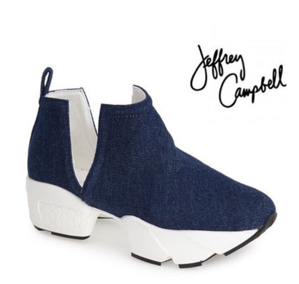 【Jeffrey Campbell】オープンサイドスニーカーOleary