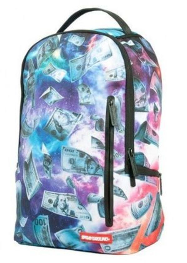追尾/関税込☆Sprayground Galaxy Money Backpack