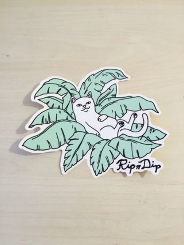 【RIPNDIP】☆LA FLAG SHOP限定☆超入手困難☆Cat Sticker S