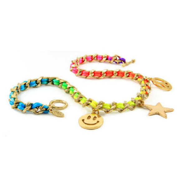 即納Ettika Rainbow Bright Charm ネックレス N421