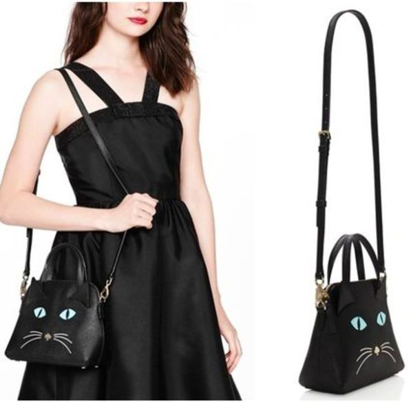 セール ★Kate Spade Cat's Meow Cat Small Maise 関税送料込