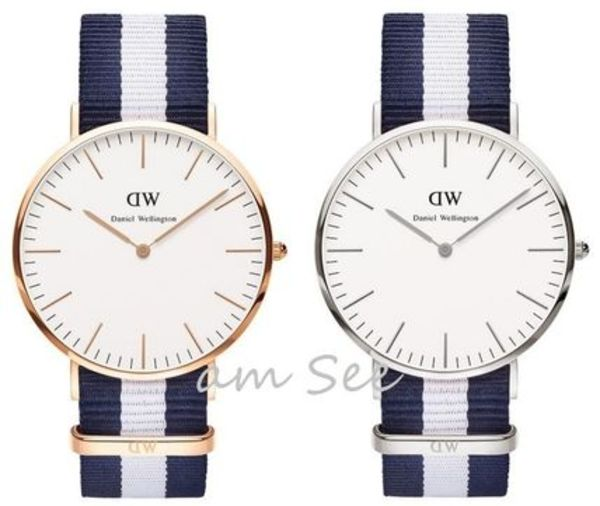 【Daniel Wellington】Classic GLASGOW 40mm Rose Gold & Silver