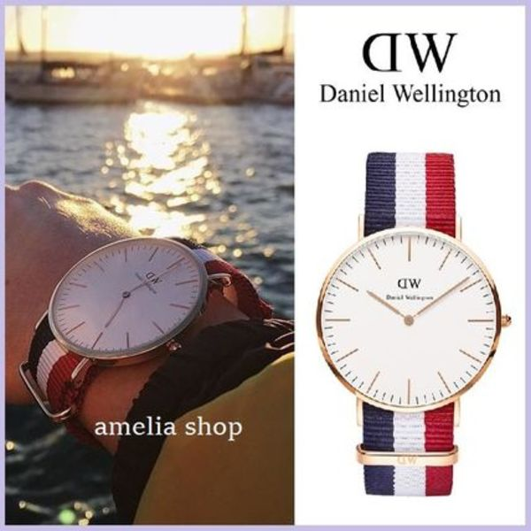 ★Daniel Wellington★Classic Cambridge NATOウォッチ 40mm