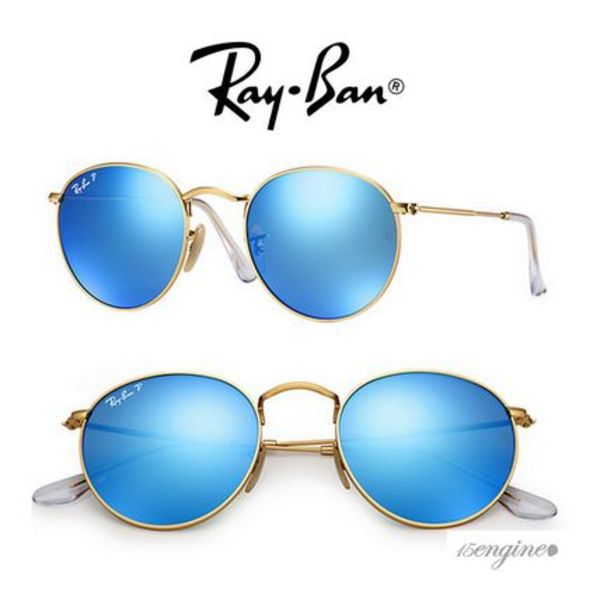 ワンオクTaka着用♪ Round Metal Polarized *Ray Ban*国内発送