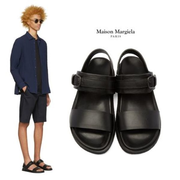 Maison Margiela レザーフラットサンダル★関税込み・国内発送