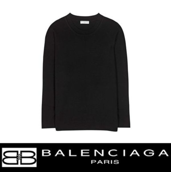 BALENCIAGA(バレンシアガ) Wool and cashmere sweater セーター