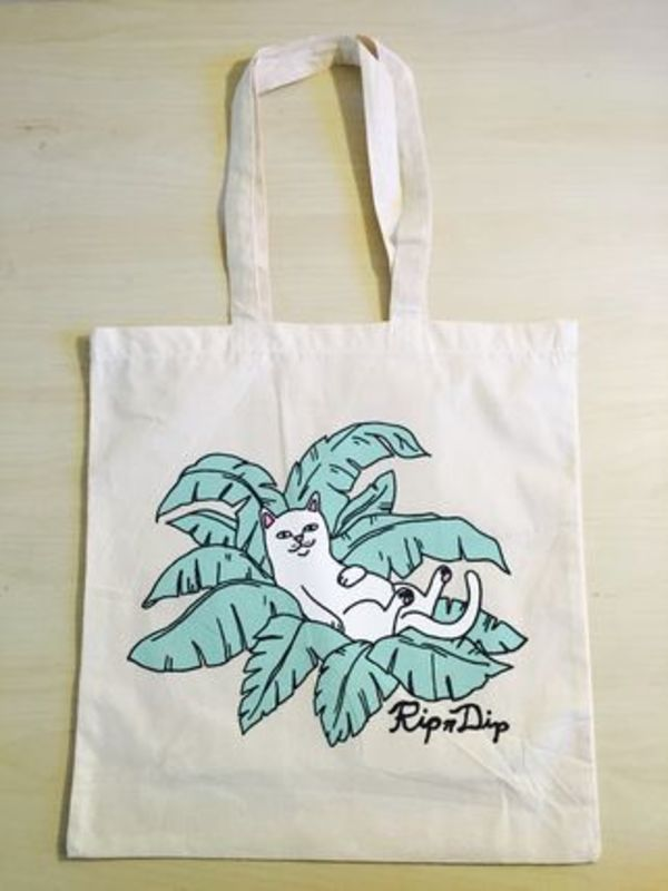 【RIPNDIP】☆LA FLAG SHOP限定☆超入手困難☆Cat Tote bag