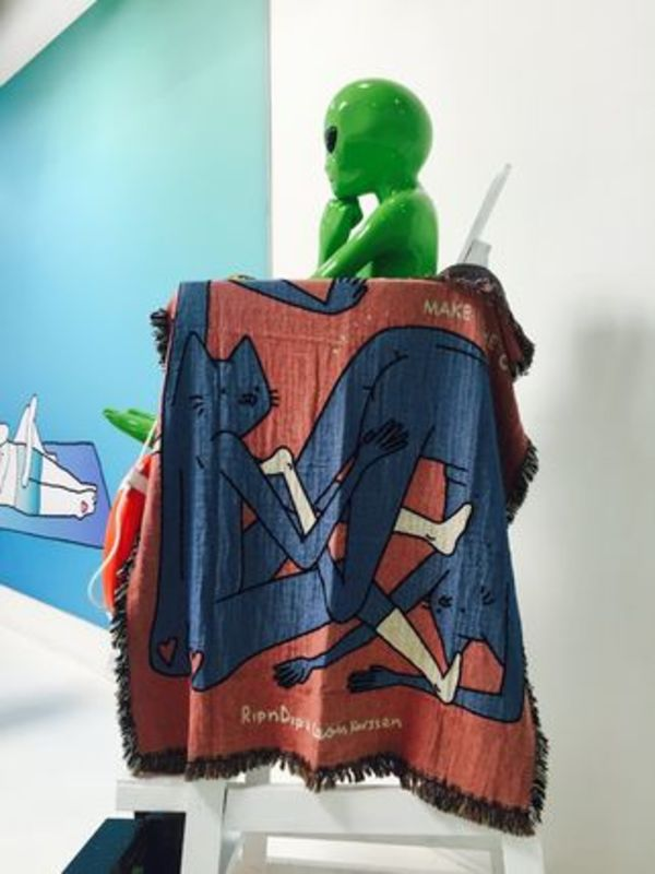 【RIPNDIP】☆LA FLAG SHOP限定☆超入手困難☆BLANKET