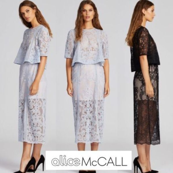 AliceMccall♡16SS レースセットアップskirt&stop 2色