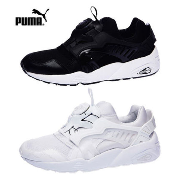 PUMA/DISC BLAZE UPDATED CORE SPEC☆25cm~29cm★黒☆白・2色